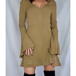 Missguided Khaki Dress